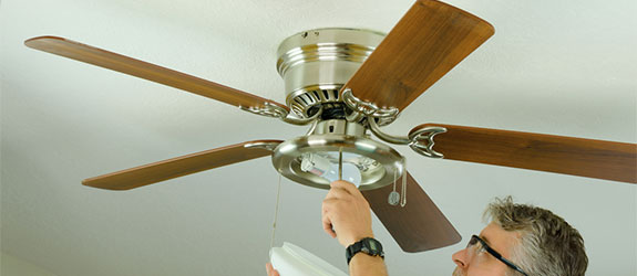 Ceiling fan installation and replacement in chesapeake va ceiling fan mozeypictures Images